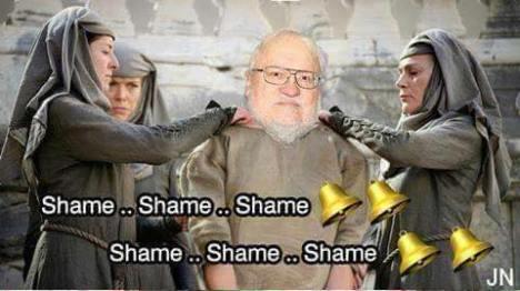 goerge martin shame
