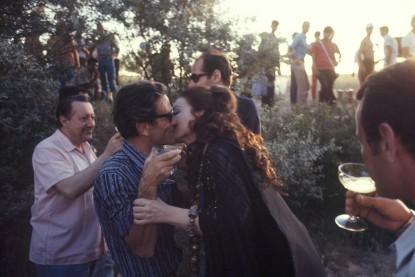 Pendant le tournage du film de Pier Paolo Pasolini, Medea, en Turquie Goreme
